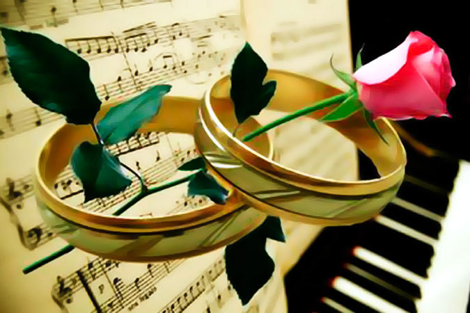 Нарезка музыки для поздравления на свадьбу 55