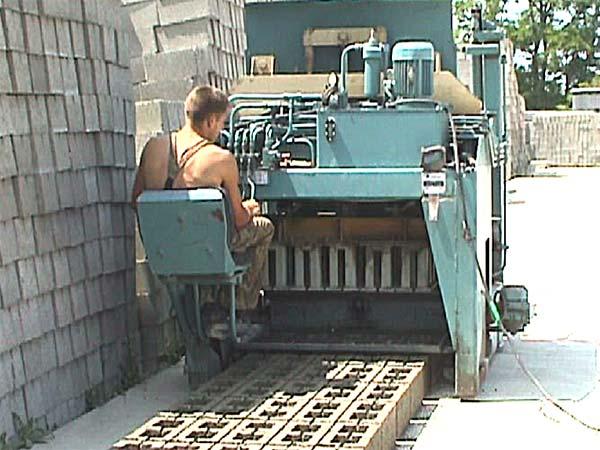Станок производство шлакоблоков своими руками